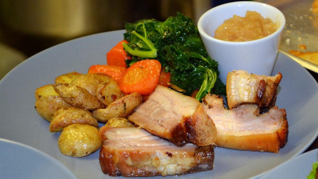 Devon Pub - sixbellsinn - menu items - porkbelly